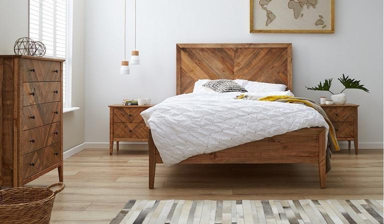 Mosaic 4 piece tallboy bedroom suite