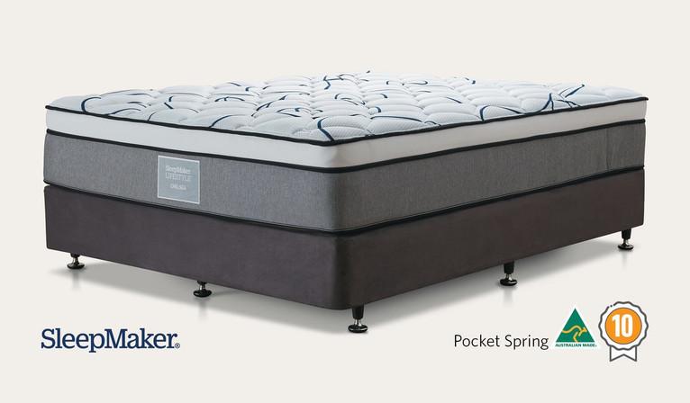 Sleepmaker Chelsea Pocket Spring Medium