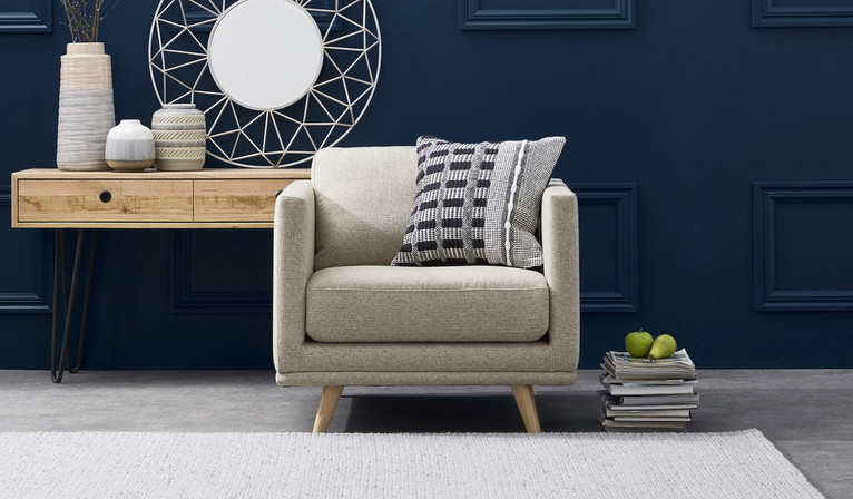 Oxley fabric armchair