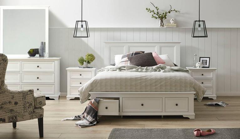 Wentworth 5 piece dresser bedroom suite