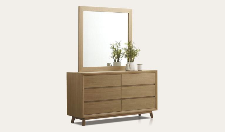 Bounty dresser & mirror