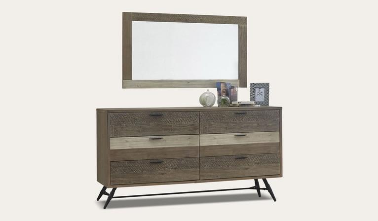 Havana dresser & mirror