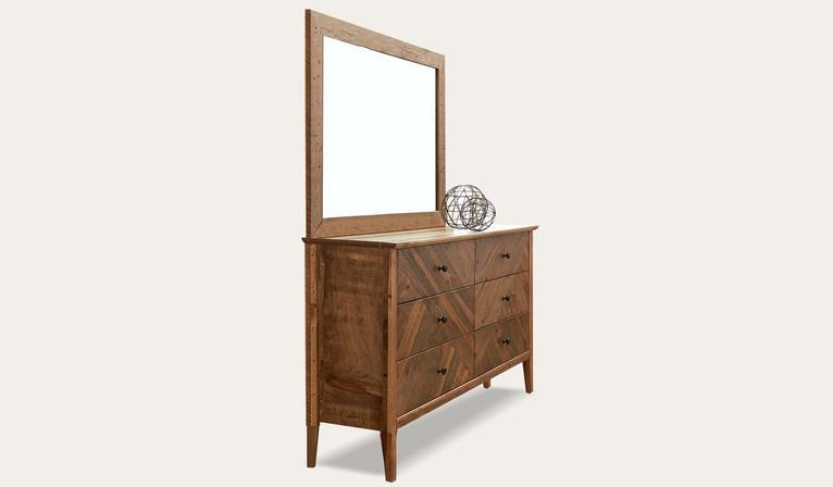 Mosaic dresser & mirror