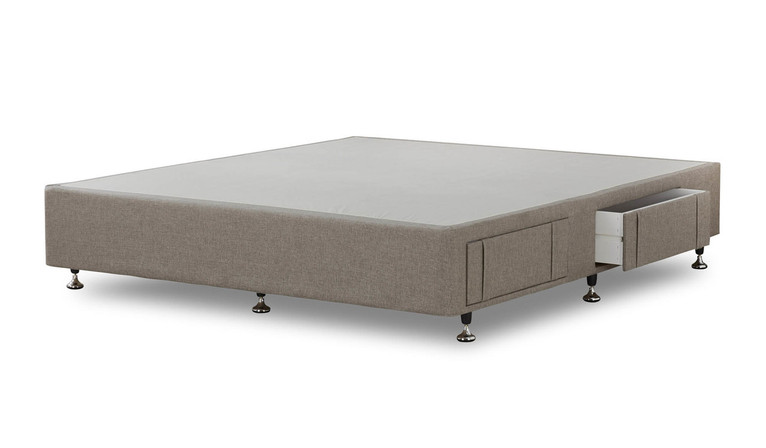 Tarlee base 4 Drawer - Taupe