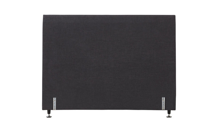 Tarlee bed head plain - Graphite