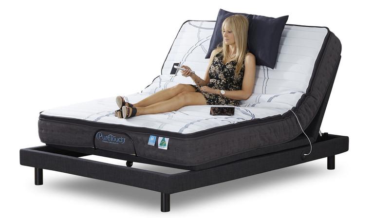 Sensus Advance Queen Bed Includes Mattress - Medium