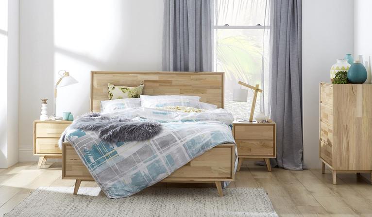 Sylvia  4 piece tallboy bedroom suite
