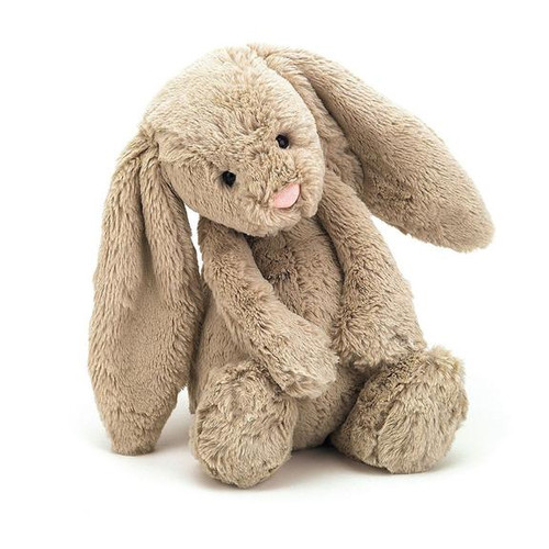 Bashful Beige Bunny is a popular fellow with scrummy-soft Jellycat fur and lovely long flopsy ears mean that with just one cuddle, you'll never want to let go. Irresistibly cute and a perfect gift for boys or girls