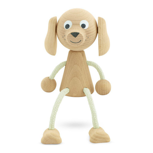 Bailey the wooden sitting dog is another one of our cute little wooden sitting toys that has just joined our collection.  These adorable wooden toys are a perfect little decor piece for their shelf as well as a wonderful toy for playtime.