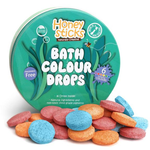 Kids will have fun at bath time creating different colours from the Red, Yellow or Blue colour drops. The perfect bath fizzies for kids they have fun watching them fizz