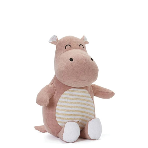 Baby Hannah takes after her dad Hugo: she loves her food. Her mother (and namesake) is the well-known comedian Hannah the Hippo, and gorgeous little Hannah loves a good giggle.