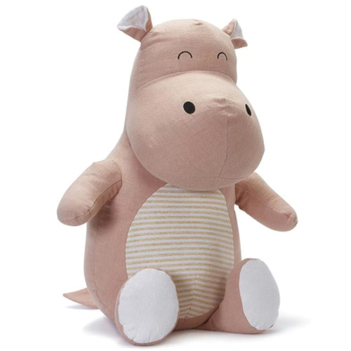 Hannah the hippo from Nana Huchy is a successful stand up comedian, Hannah loves nothing more than to laugh at her own jokes.Husband Hugocan't get a word in-
