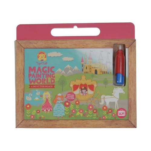 Become a magical artist with Tiger Tribe's Magical Painting World. Fill your magic paintbrush with water and reveal the gorgeous illustrations brought to life with every brush-stroke…