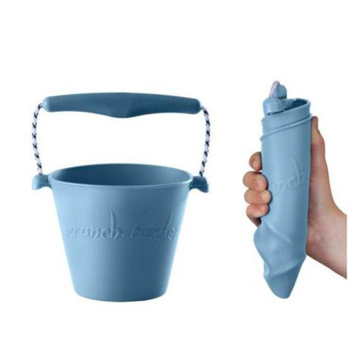 SCRUNCH, travel essentials for kids The ultimate range of collapsible, multi-purpose beach products, including buckets, spades, extendable fishing nets, sand moulds, frisbees and more…