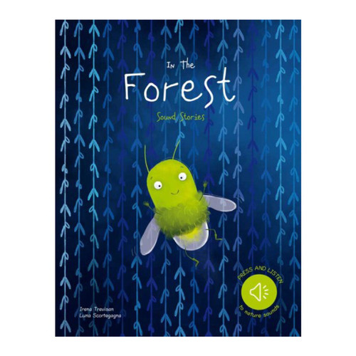 Sassi - Sound Book - In the forest In the midst of a moonlit night, a firefly is searching for something that makes it feel less insignificant. Among the trees and animals of the forest, the firefly will learn the value of the little things. Read the sweet tale of the firefly and listen to ten wonderful sounds of nature that will accompany you in this story full of magic.