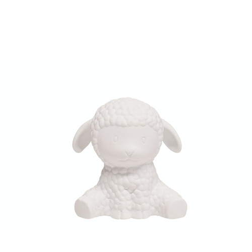 Gorgeous porcelain sheep LED light, the perfect addition to a nursery of childs room.