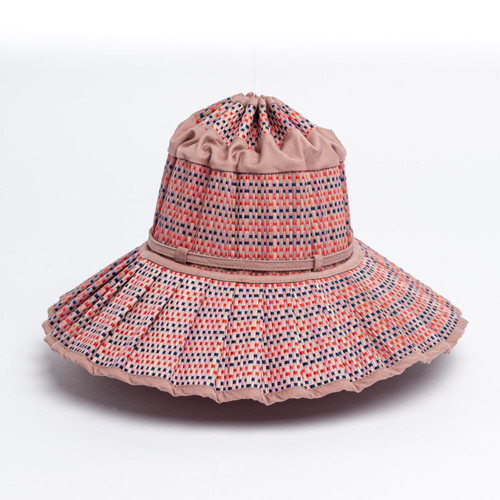 Lorna Murray kids capri - The Capri is Lorna Murray's original hat design, featuring a mid-length brim and is carefully handcrafted from 100% Natural Organic Grass Fibres. The Childs Capri features a tie at the base of the crown.
