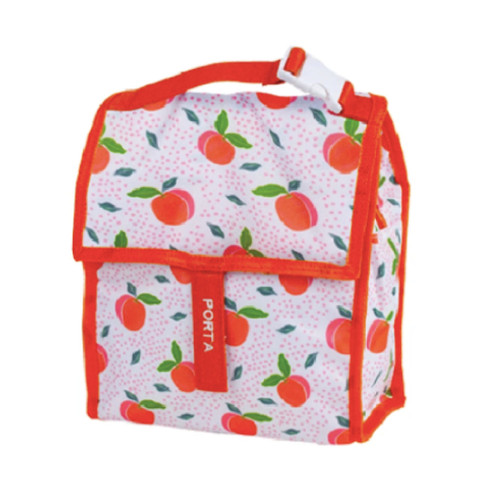 These insulated lunch bags have a top carry handle with clip so you can attach to backpacks, pram handles and more.