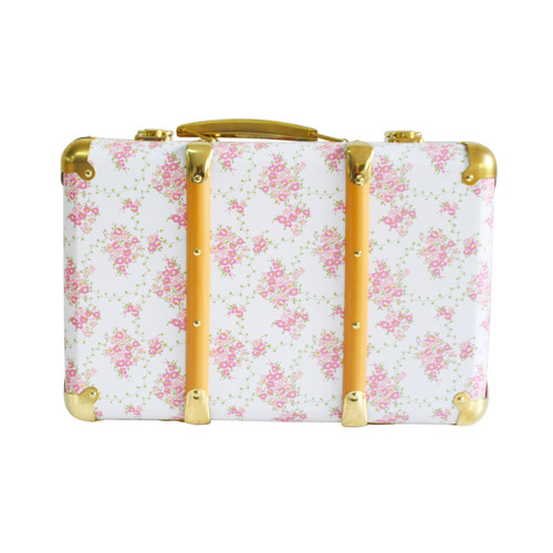 A cute vintage style case suitable for cute storage and room decor. Little ones love to pack up there favourite treasures when heading away and our mini suitcases are the perfect casefor this.