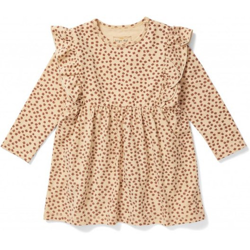 This Basic dress Buttercup rosa is wonderfully soft and super comfy! The dress is made of 95% organic cotton and 5% elastane. Up to and including 18 months, .