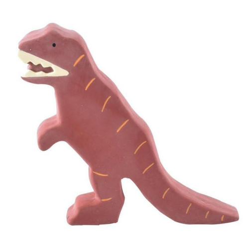 Made from organic  natural rubber, this adorable beast from our My First Dino Collection is beautifully decorated and is perfect for toddlers, both as a toy and as a teether, bought to you by Arch & bear