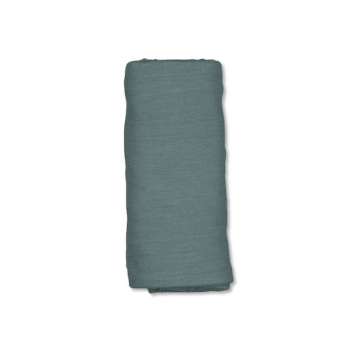 The gorgeous fabric blend of 49% merino, 46% bamboo and 5% elastane make the swaddle luxuriously warm and soft against delicate skin, and with just the right amount of stretch it gives a lovely secure wrap for those wriggly babies.