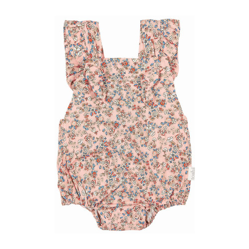 The Toshi Baby Romper is reminiscent of bygone days and is the perfect look for a fun summer occasion.