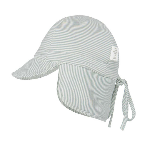 The Toshi Flap Cap Baby is our most popular baby sunhat. Shielding precious babies form the elements is the priority and our flap cap has a contoured neck flap for enhanced sun protection.