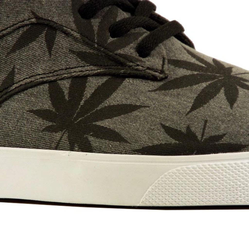 Huf Sutter 420 Shoes - Charcoal/Black