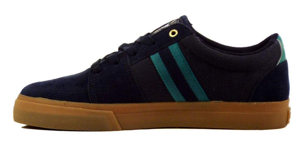Huf Pepper Pro Shoes - Navy/Jade