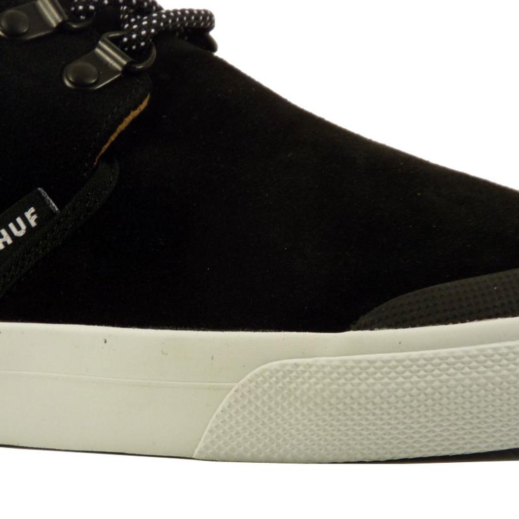 Huf Genuine Shoes - Jet Black/White
