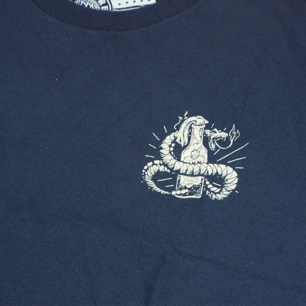 Spitfire Molotov Snake T-Shirt - Navy