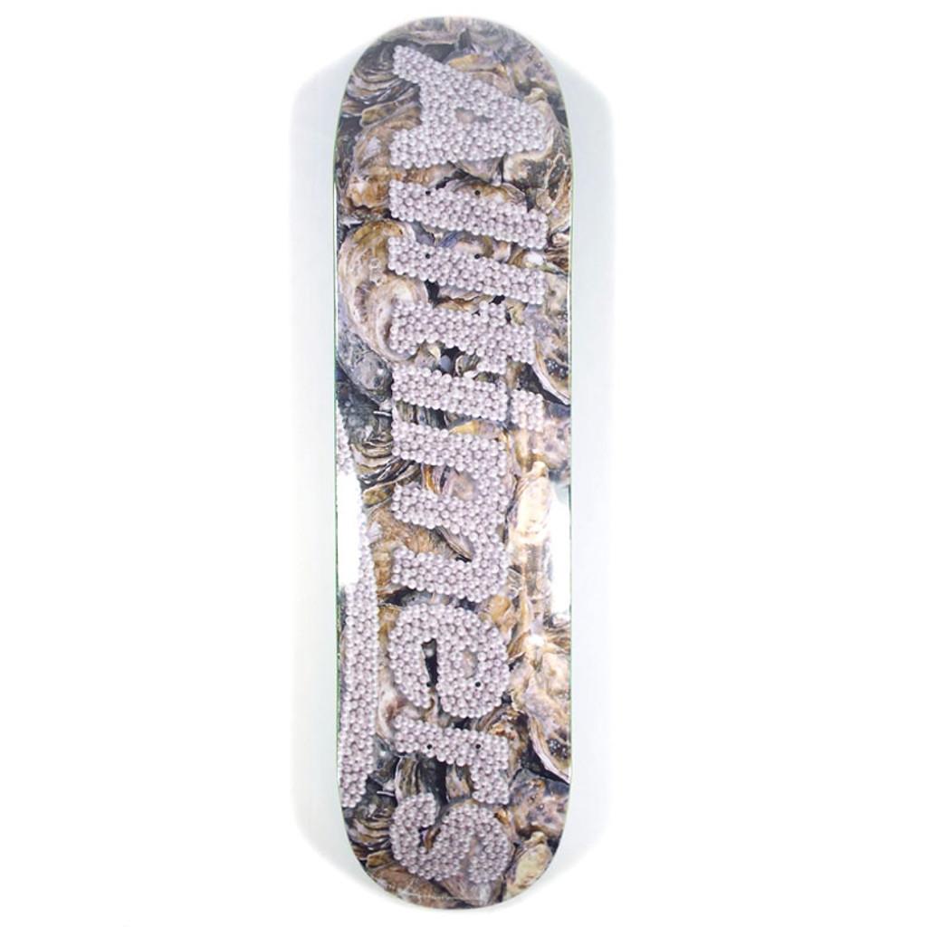 "Alltimers Pearls Logo Skateboard Deck - 8"""