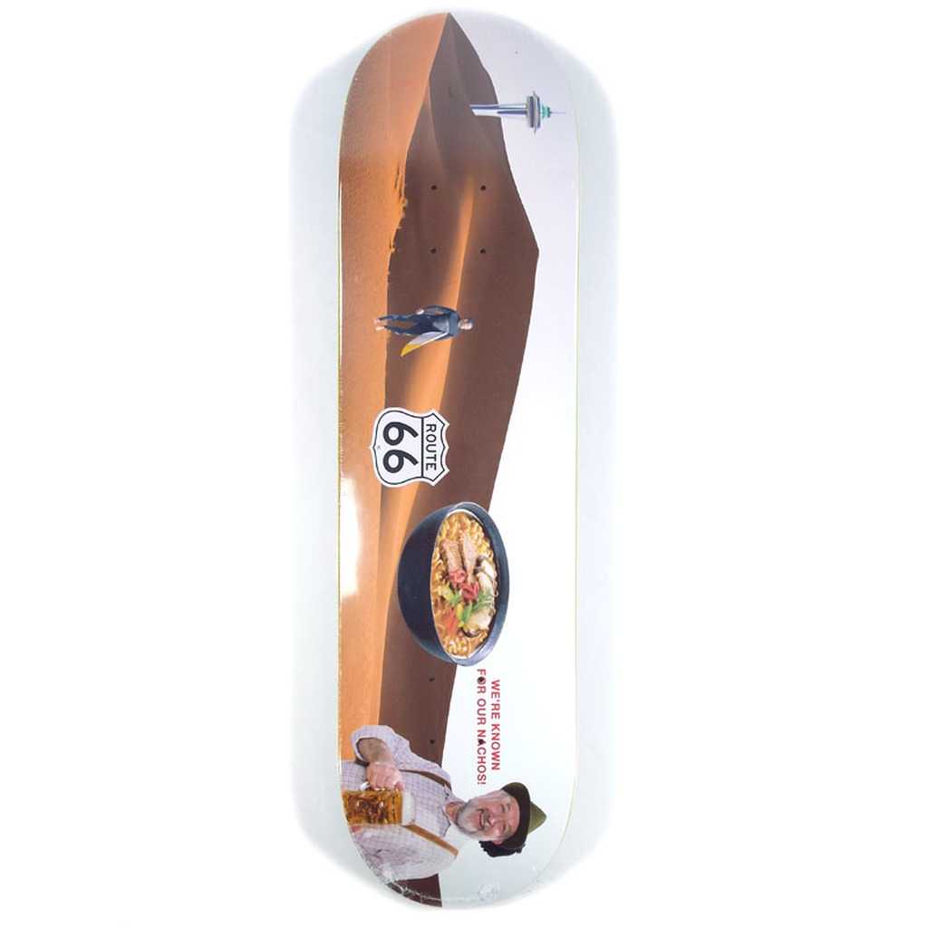 "Alltimers Confusing Tourism Desert Skateboard Deck - 8.1"""