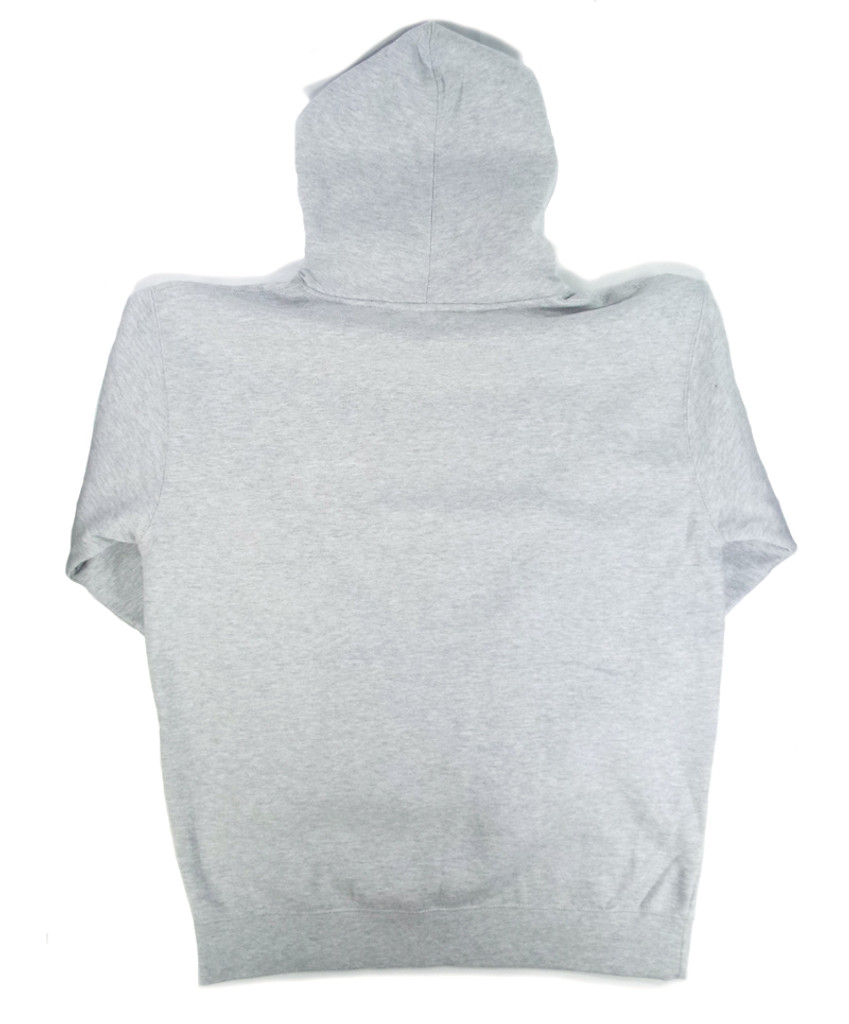 Pizza Spizza Hooded Sweatshirt - Grey