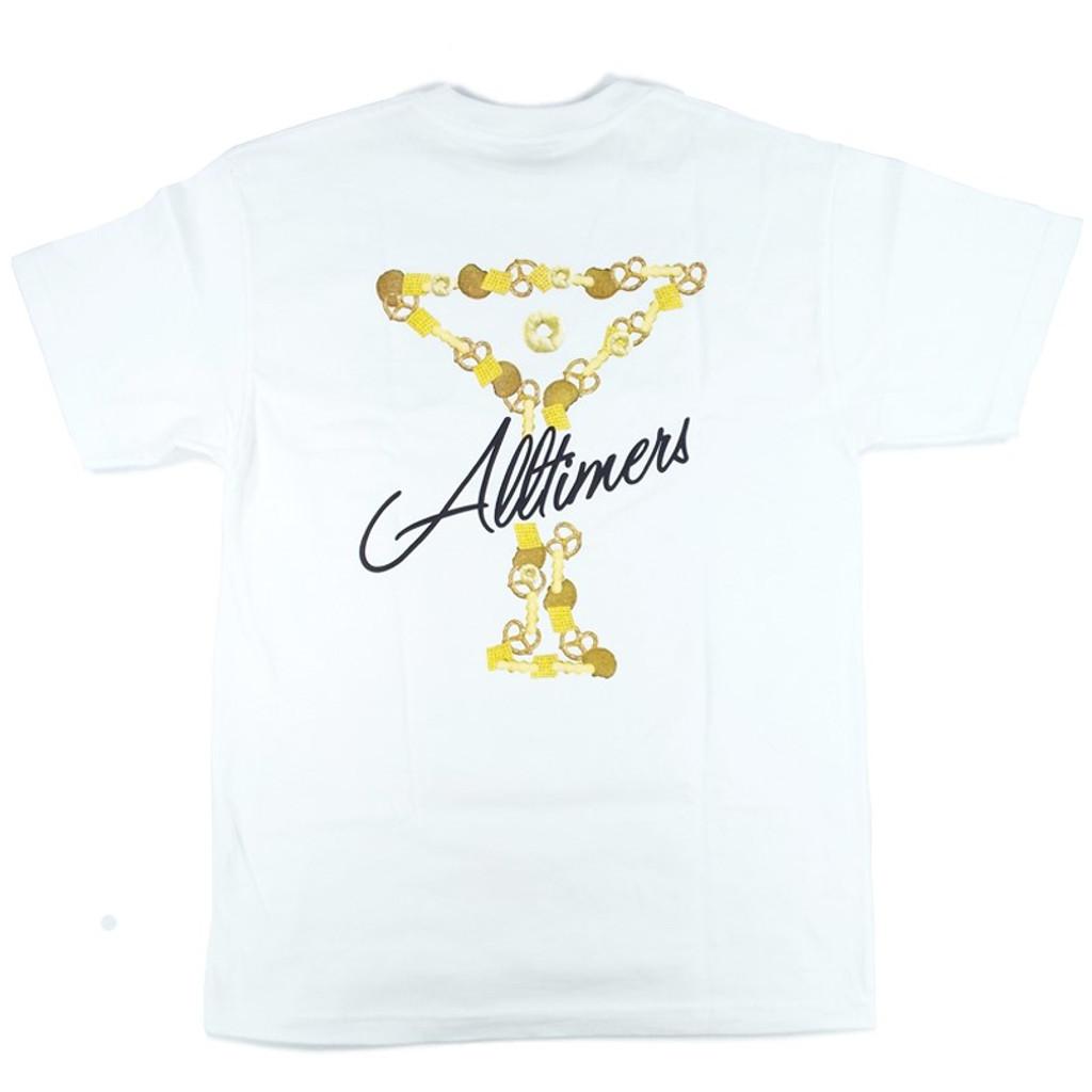 Alltimers Bar Mix Logo T-Shirt - White