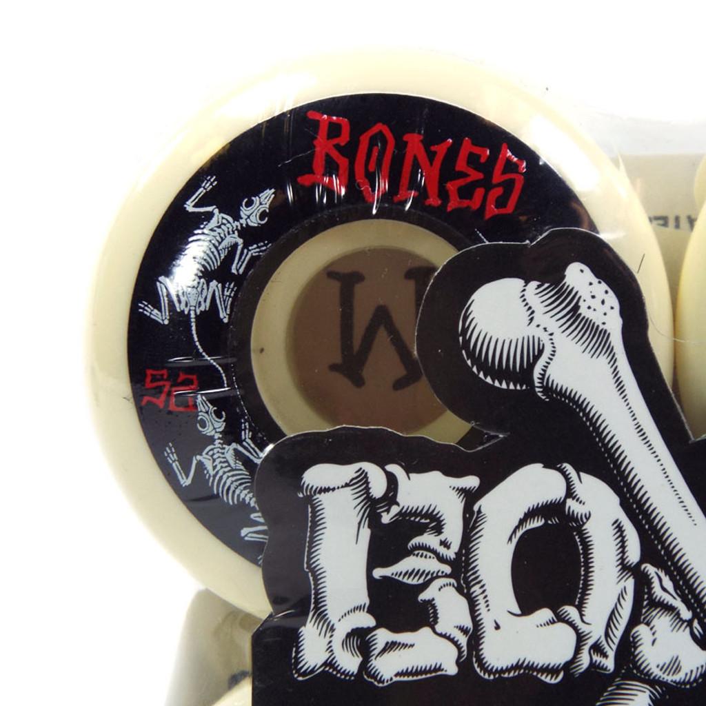 Bones Annuals STF Skateboard Wheels - 52mm