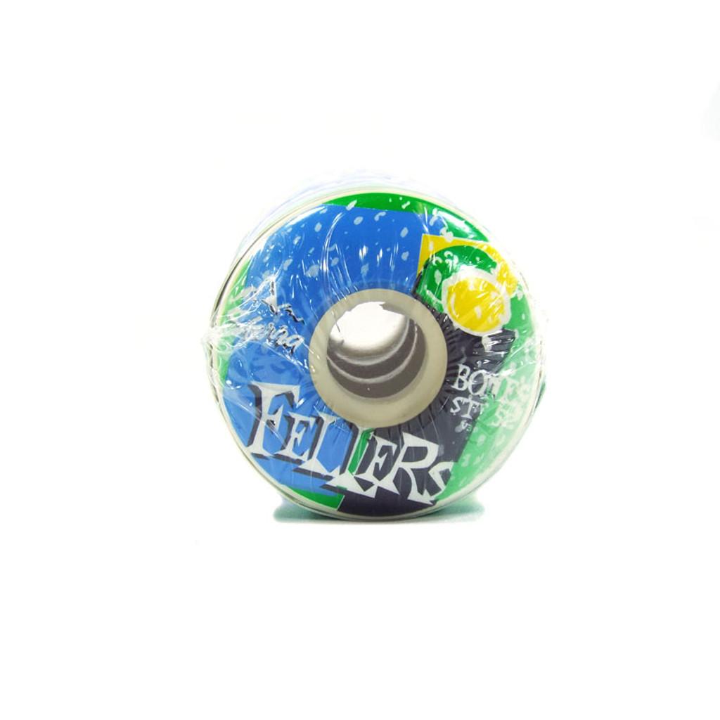 Bones Fellers Mist STF Skateboard Wheels - 52mm