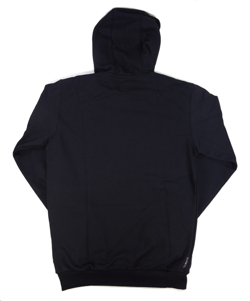 Adidas Clima 3.0 Hooded Sweatshirt - Black/White