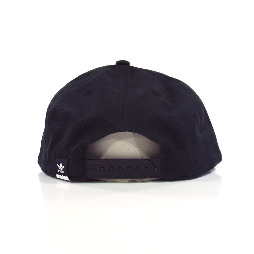 fed3419dc2e Adidas 2 Tone Snapback Hat - Black - Detroit City Skateboards Co.