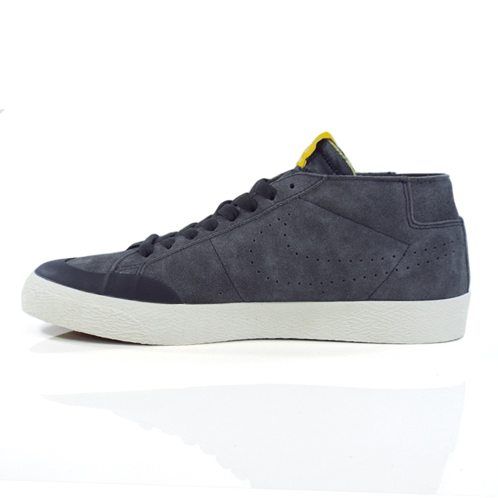 Nike SB Zoom Blazer Chukka XT (Lance Moutain) Shoes - Anthracite/Anthracite - Fir
