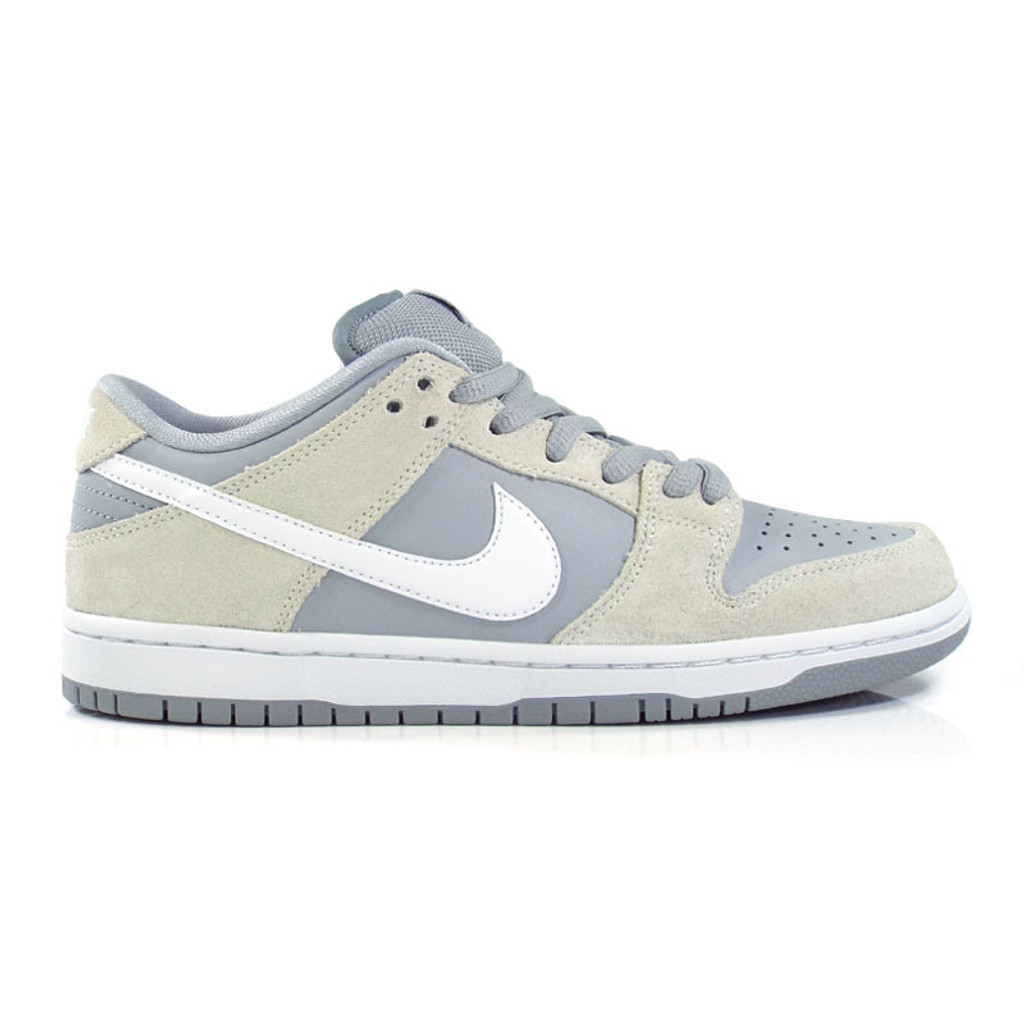Nike SB Dunk Low TRD Shoes - Summit White White-Wolf-Grey-White ... 79c0c6ea702