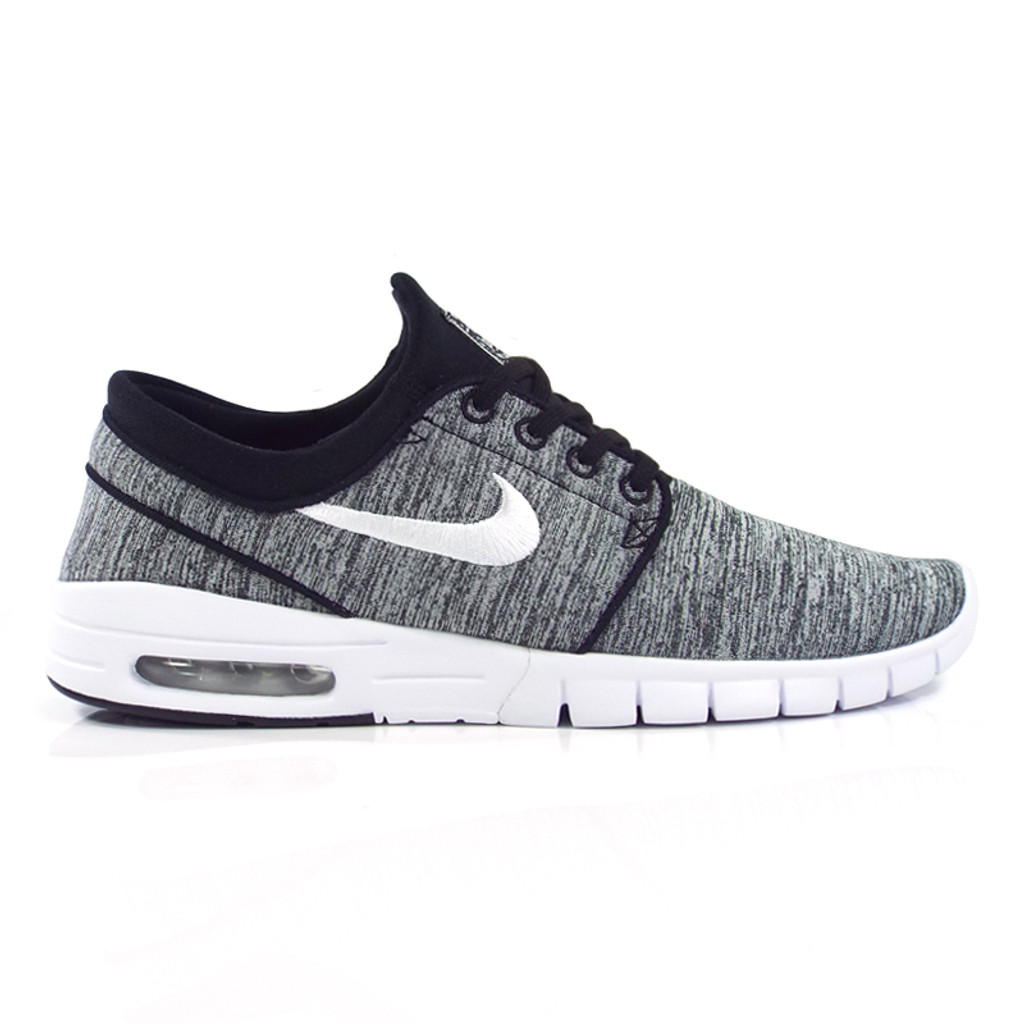 4cc9614d4627 Nike SB Stefan Janoski Max Shoes - Black White - Detroit City ...