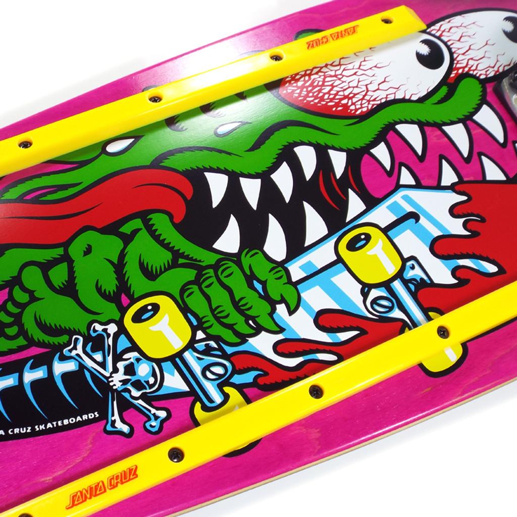 """Santa Cruz Slasher 80's Crusier Skateboard Complete - 10.1"""" x 31.12"""""""