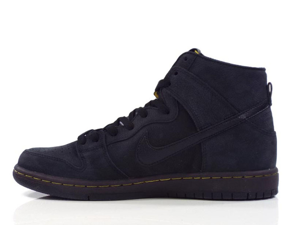 Nike SB Zoom Dunk High Pro Deconstructed Premium Shoes - Black/Black-Velvet Brown-Peat Moss