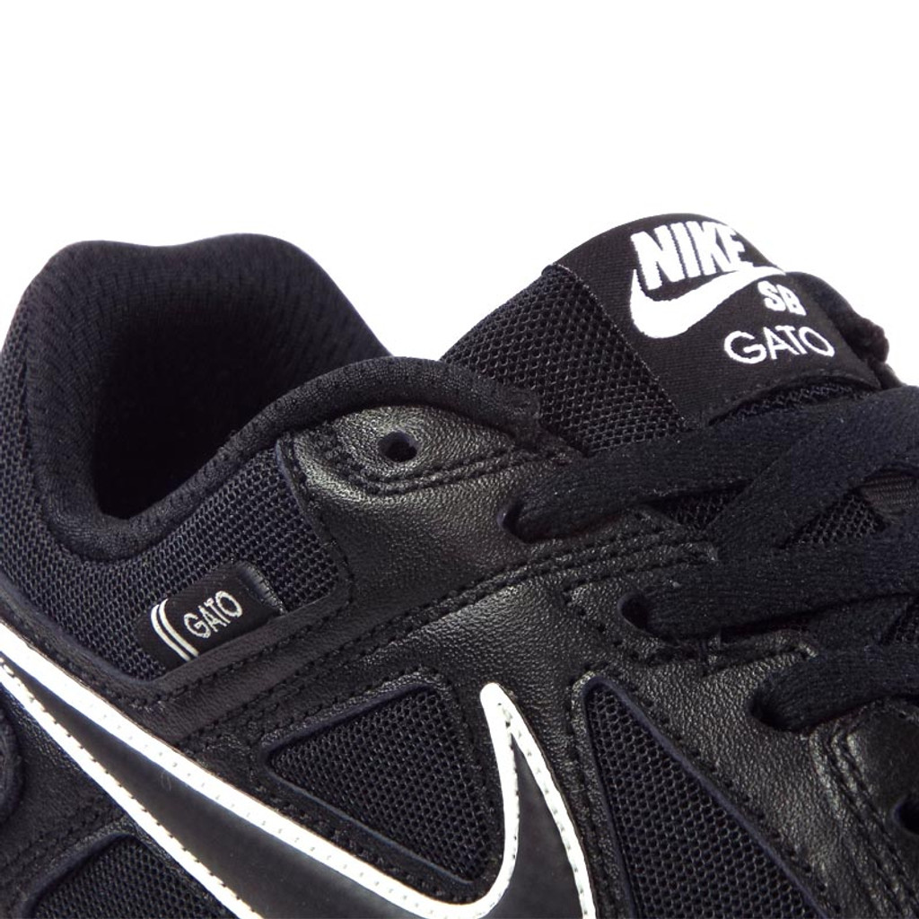 cee474c325f2 Nike SB Gato Shoes - Black Black-White-Gum Light Brown - Detroit ...