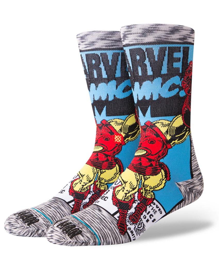 Stance Iron Man Comic Socks