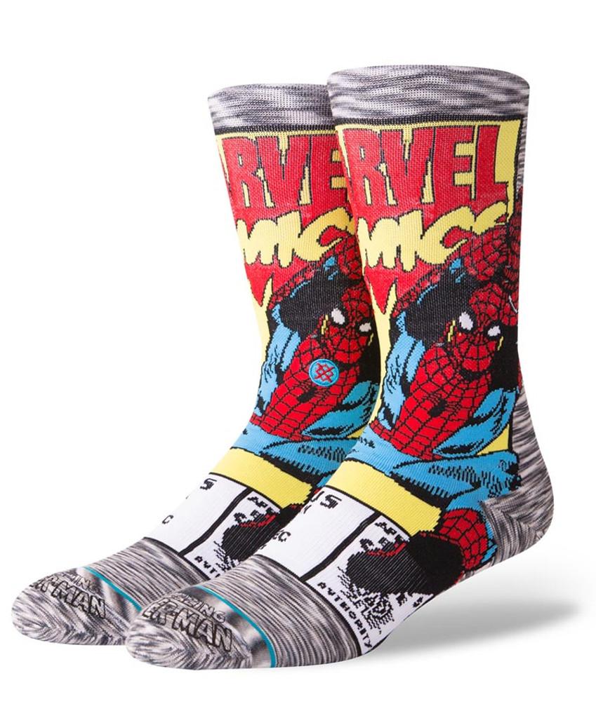 Stance Spiderman Comic Socks