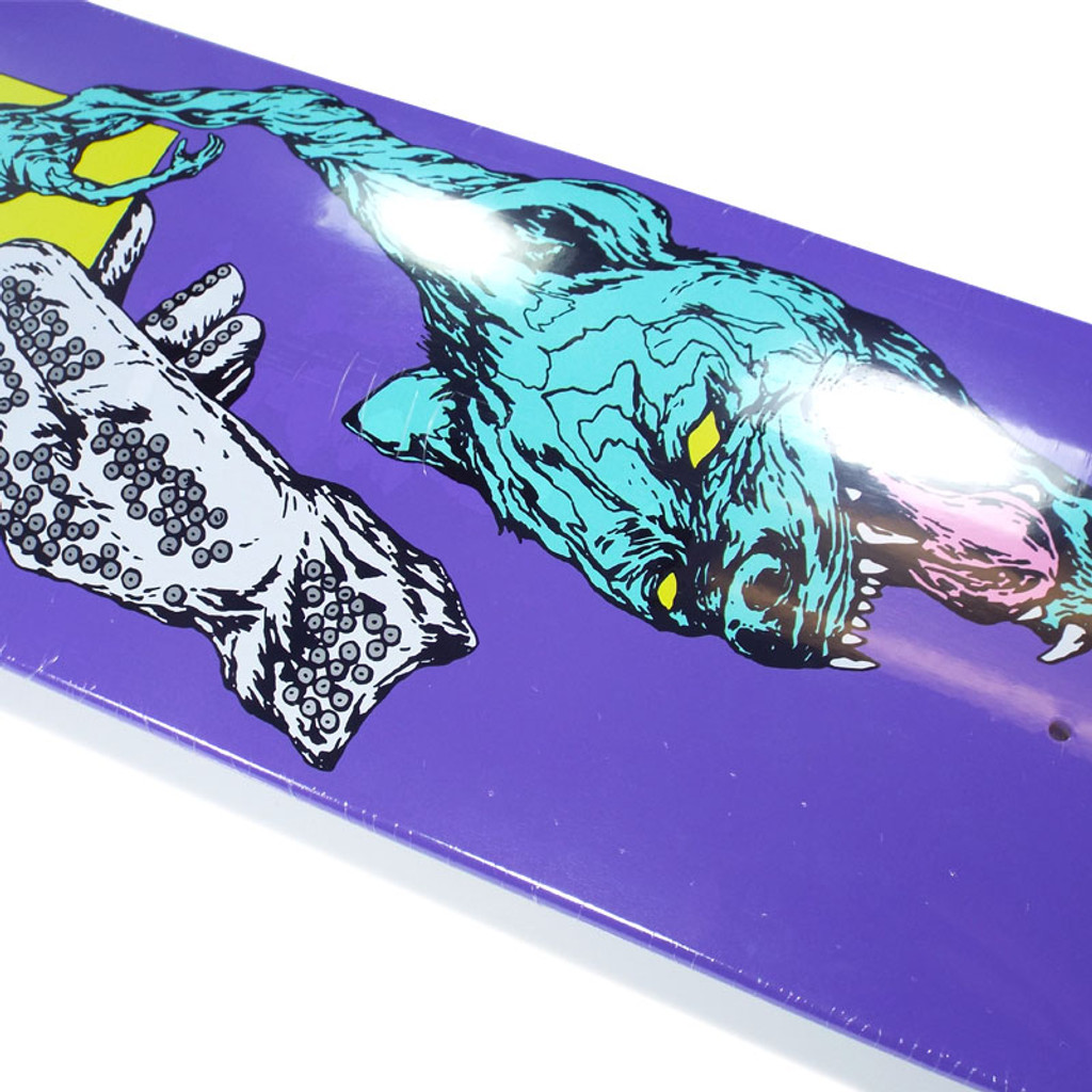 """Welcome Face Of A Lover On Helm Of Awe Skateboard Deck - 8.38"""""""