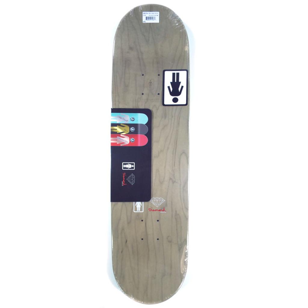 "Girl Carroll Diamond Skateboard Deck - 8"""